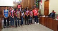 Câmara Municipal de Humaitá, vereadores prestam homenagem a Alunos e Professores (Campeões) medalistas nos Jogos Escolares do Amazonas // 2019.