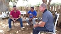 Alexandre Perote visita comunidade de Realidade e detecta diversos problemas