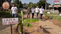 Blitz do Legislativo vai até as ruas de Humaitá para reivindicar asfalto