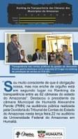 CÂMARA DE HUMAITÁ EM SEGUNDO LUGAR NO RANKING DA TRANSPARÊNCIA