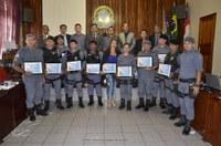 CÂMARA MUNICIPAL DE HUMAITÁ, HOMENAGEIA MILITARES DA GUARNIÇÃO DA POLICIA MILITAR DE HUMAITÁ