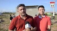 CÂMARA MUNICIPAL DE HUMAITÁ INSPECIONA REFORMA ONDE FUNCIONARÁ POSTO POLÍCIAL NO CONJUNTO HABITACIONAL RIO MADEIRA