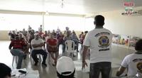 Comerciantes e vereadores reunidos para discutir melhorias no mercado municipal de Humaitá