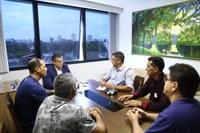 Frente Parlamentar de Humaitá visita Detran e busca parceria com Assembleia Legislativa