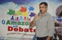 Presidente Alexandre Perote participa de Seminário que debate estratégias de desenvolvimento das cidades do estado do Amazonas.
