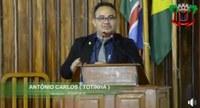 TOTINHA SUGERE INSTALAÇÃO DE PARADAS DE ÔNIBUS NA CIDADE DE HUMAITÁ-AM.