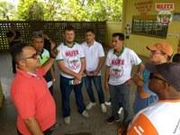 Vereadores de Humaitá realizam 'Blitz do Legislativo' na escola estadual Marly Lobato Nery