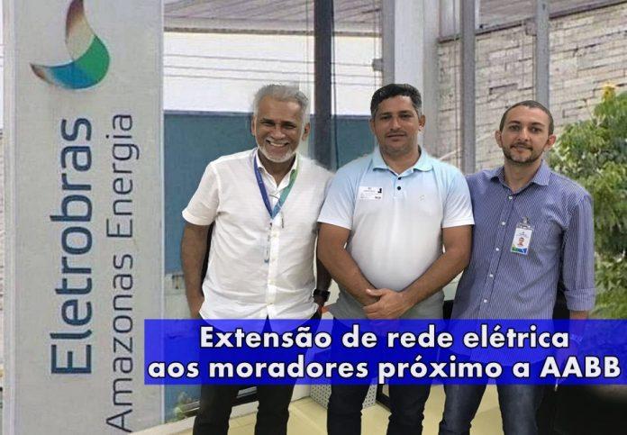 Vereadores de Humaitá solicitam extensão de rede elétrica para moradores próximo da AABB