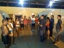 Vereadores visitam ribeirinhos alojados que foram atingido pela cheia do rio madeira em Humaitá